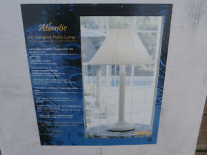 NEW OUTDOOR TABLE LAMP