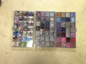 3 Boxes Of Craft Beads