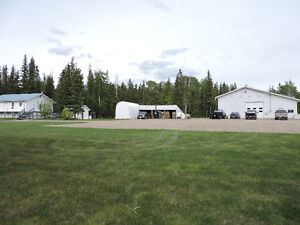 Very well maintained Property 5 Minutes east of Dawson Creek