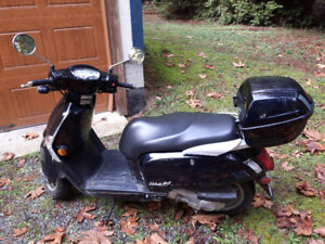 Sexy 2013 Kymco 'Like 50' Gas Powered Scooter for Sale