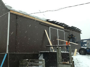 BARN REPAIRS,PAINTING, STEEL ROOFING London Ontario image 7