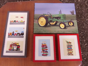 Children's Pictures - Cars and John Deere