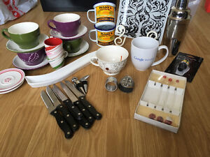 Selling assorted kitchen ware for cheap !
