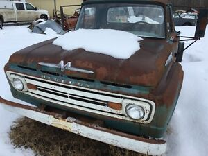 1962 Mercury Super Duty cab and chassis