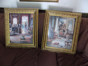 Two Framed print art