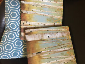 Birch tree decor pictures