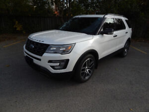 2016 Ford Explorer Sport SUV, Quad Seats, AWD ,Pano Roof