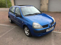 2005 Renault Clio 1.2 Expression 5 Door Metallic Blue