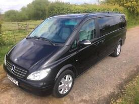 2008 Mercedes-Benz Viano 3.0 CDI Ambiente Long MPV 5dr Diesel Automatic
