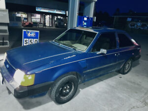 1985 FORD ESCORT GL HATCHBACK - $2000 OBO - LOW KM