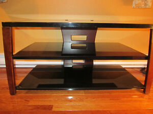 """3 Shelf Tempered Glass TV Stand for 46"""" TV's"""