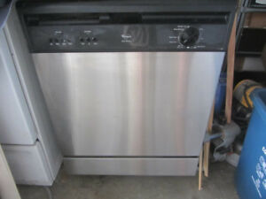 Stainless Steel Dishwasher Whirlpool Quiet 1 Series