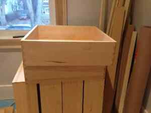 Solid Maple Dove Tail Drawers