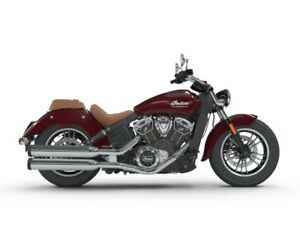 2018 Indian Motorcycle Scout ABS Burgundy Metallic