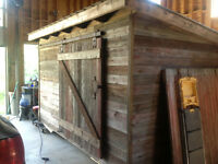 1935 barn  board garden shed