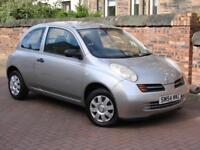 TRADE IN TO CLEAR!! 2004 NISSAN MICRA 1.0 E 3dr, FSH, LONG MOT,