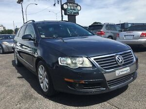 Volkswagen Passat Wagon COMFORTLINE-CUIR-JAMAIS ACCIDENTER 2007