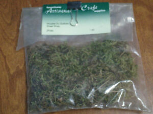 HO scale shrubbery for electic model trains