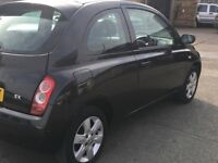 NISSAN MICRA 1.5 DCI MODEL DIESEL 2007 MODEL LONG MOT AND TAX