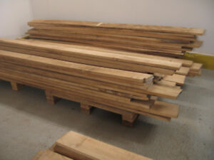 Red Oak, White Ash Lumber Boards Wood Planks - Dried n Ready