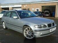 2003 53 BMW 3 SERIES 2.5 325I SE TOURING 5D AUTO 190 BHP
