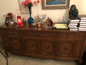 $50 credenza/sideboard in Cote Saint Luc