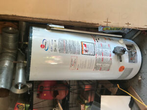 rheem gas hot water tank 50 gallon
