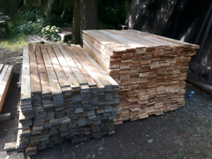 Fence and deck boards