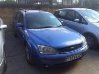 2001 Ford Mondeo 2.0 LX 5dr 5 door Estate