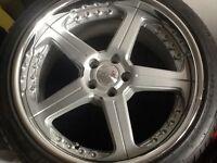 Traffic star split rims for Audi cost £4000