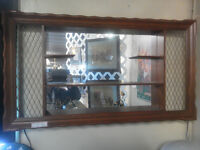LARGE ANTIQUE 1950's SHADOW BOX REDUCED 25.00