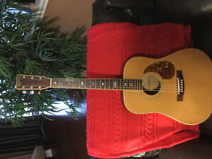 Segovia J-55 Very rare from 70's Solid top 3 piece back