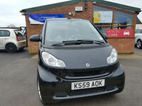 2010 Smart fortwo 1.0 ( 84bhp ) Semi-A Passion NEW SERVICE AND TYRES