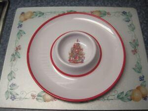 Festive Melamine Serving Platters For Sale