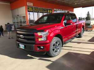 2015 Ford F-150 Lariat FX4 Off-road package