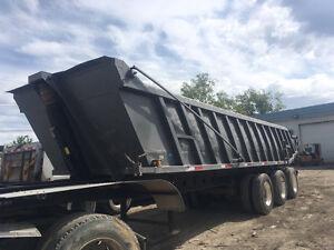 1989 Arnes end dump trailer