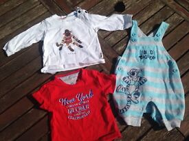Baby boys clothes £10 for 60 items