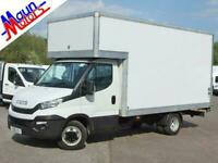 Iveco Daily 35C14 HI-MATIC Automatic, Luton Box Van with Tail Lift, DRW, DAB,