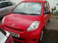 DAIHATSU SIRION S 2009 Petrol Manual in Red