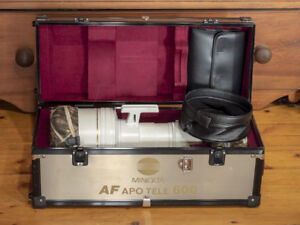 Minolta AF 600mm F4 High Speed Telephoto for Sony Alpha