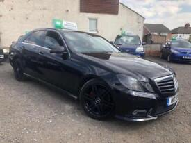 2010 60 MERCEDES BENZ E200 2.1 CDI SPORT BLUE EFFICIENCY FULLY FACELIFT