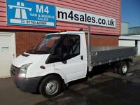 Ford Transit 350 LWB, DROPSIDE, 115PS
