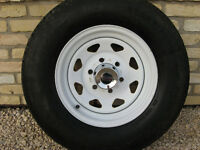 225/75R15 trailer tires and rims