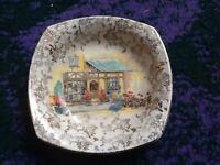 Royal Lancaster bowl 'the posy shop'
