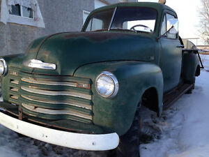 1952 Chevrolet 1430 Pickup Resto project