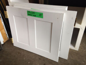 4 White Hinged Doors