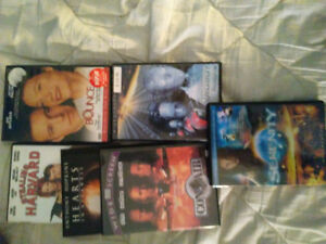 DVDs for sale $1 each