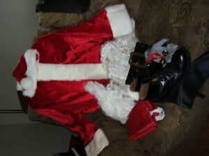 Santa Claus suit set  for sale