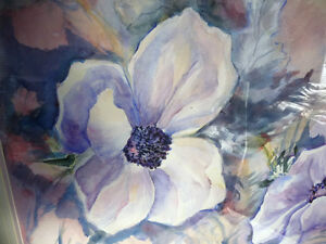 "Floral, Still Life, Original Watercolor by Gina Boyle ""Poppies"" Stratford Kitchener Area image 7"