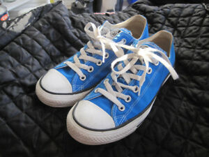 Converse Classic All Stars Blue Canvas Unisex Low Cut Sneakers